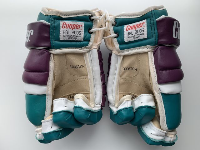 Mighty Ducks of Anaheim Cooper 5 Roll Leather Palms