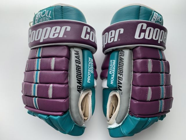 Mighty Ducks of Anaheim Cooper 5 Roll Leather Top