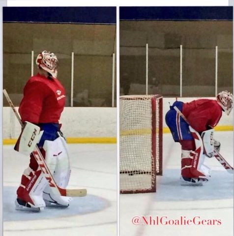 Carey Price in bauer gear - Goalie Gear - Gallery - Pro Stock Hockey